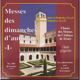 Masses of the Sundays of Autumn I (Triors)
