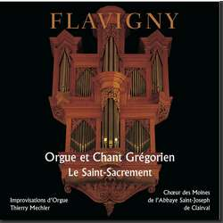 'Blessed Sacrament - Organ and Gregorian chant (Flavigny)'