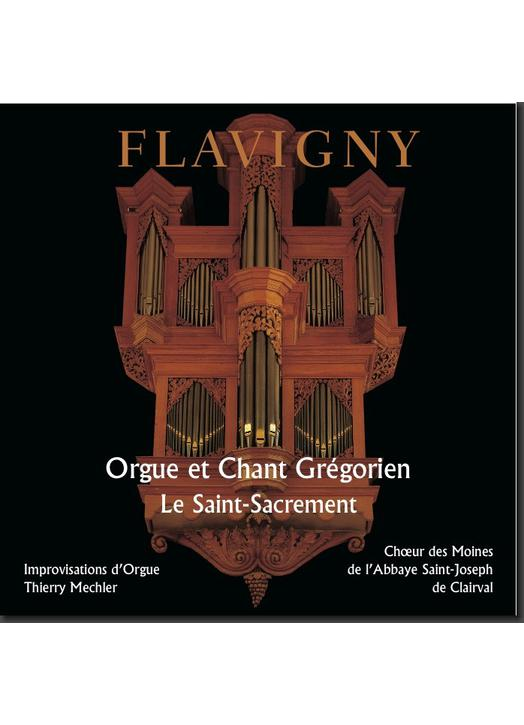 El santo sacramento - Órgano y canto gregoriano (Flavigny)