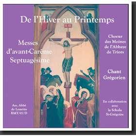 De invierno a primavera: Misas precuaresmales (Triors)