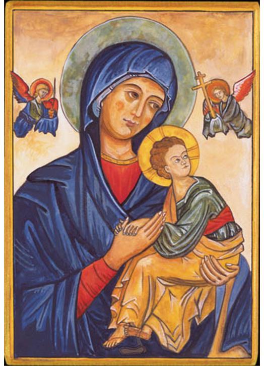 Notre-Dame du Perpétuel Secours (Montage plat)
