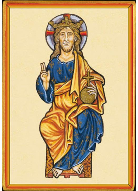 Le Christ-Roi (Montage plat)