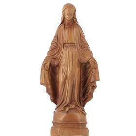 Statue of Miraculous Virgin, 15 cm (Vue de face)