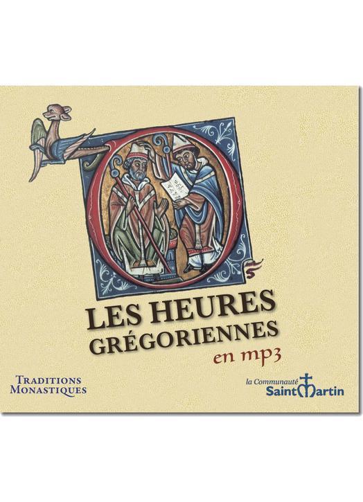 Gregoriaans gezang : Les Heures grégoriennes en mp3 (Réf. CD495)