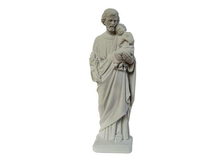 Saint Joseph, 46 cm (Vue de face)