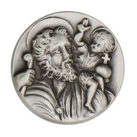 St. Christopher car medal