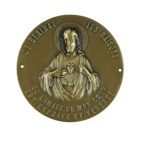Sacred Heart Doorplate