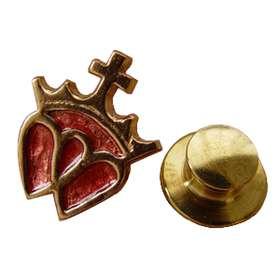 insignia doble corazón