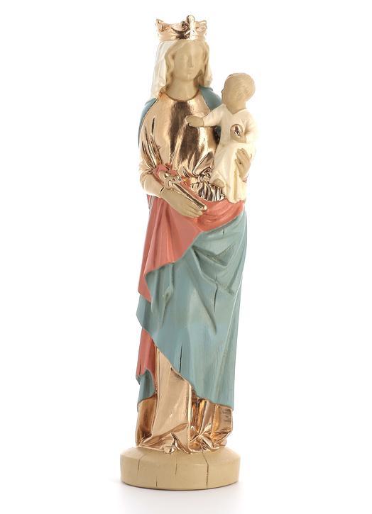 Bas relief la vierge et l/'enfant cerclé d/'ange 3188