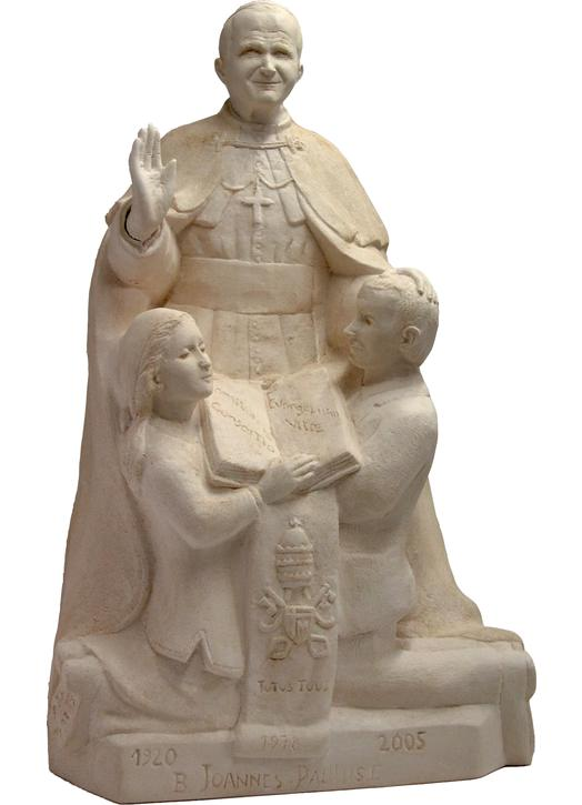 The Blessed John-Paul II and the family (Vue générale)