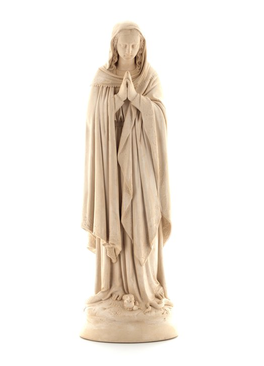 statue of Immaculate Conception, 34 cm (Vue de face)