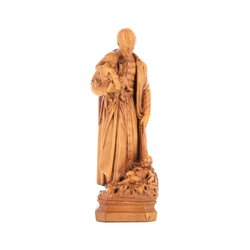Statue of Saint Vincent de Paul (Vue de face)