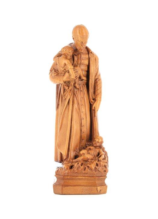 Statue de saint Vincent de Paul (Vue de face)