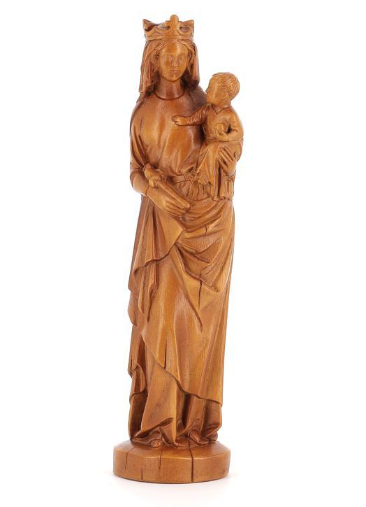 Statue of the Virgin (Vue de face)