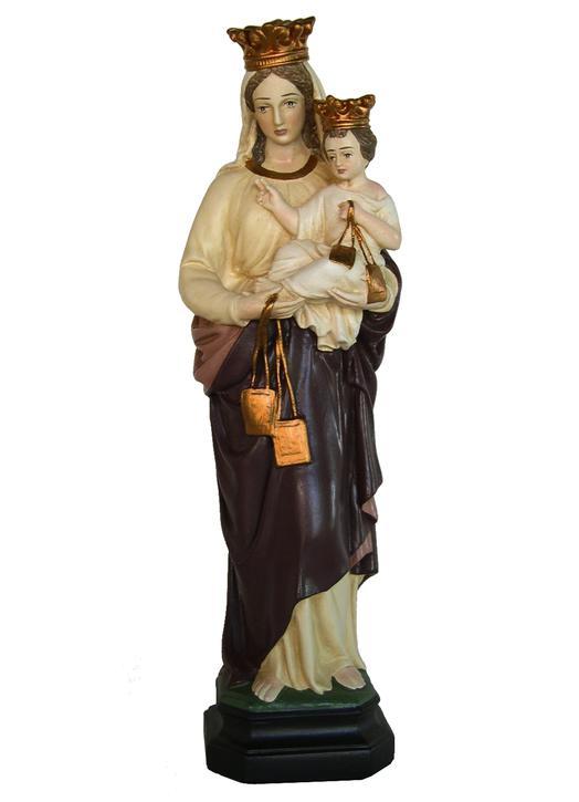 Statue de Notre-Dame du Mont-Carmel, 32 cm (Vue de face)