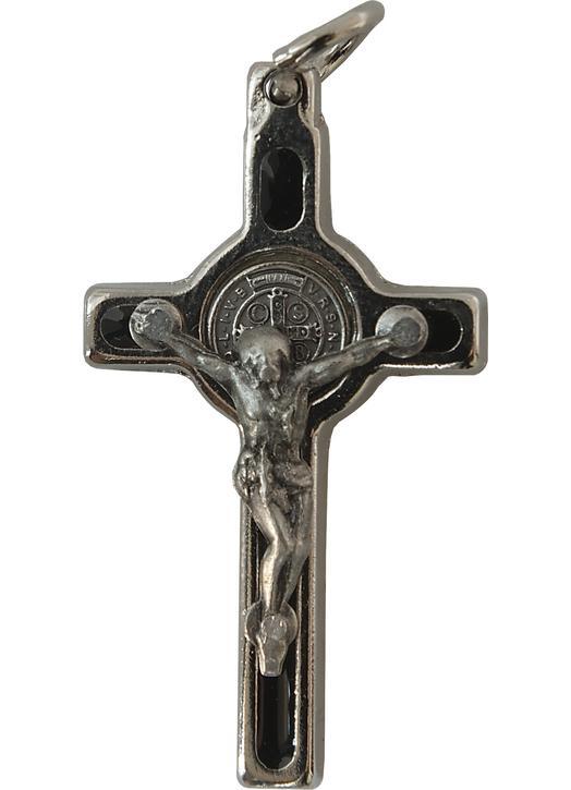 Cruz de san Benito colgante