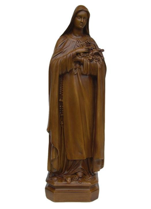 Estatua de Santa Teresita del Niño Jesús, 60 cm (Vue de face)