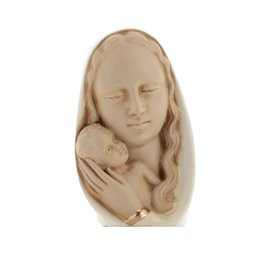 Buste de la Vierge Marie, 12 cm (Vue de face)