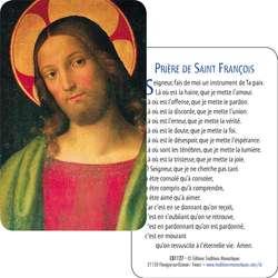 Carte-Prière de Jésus de la Minerve (Recto-verso)