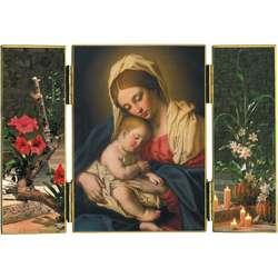 Vierge à l'Enfant de -B. Salvi