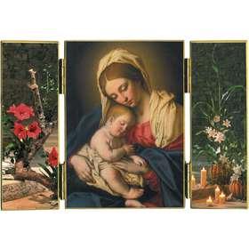 La Virgen María con el Niño Jesús (-B. Salvi)