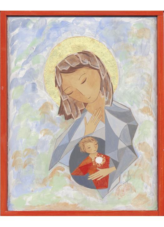 Icône de Marie, Mère de l'Eucharistie