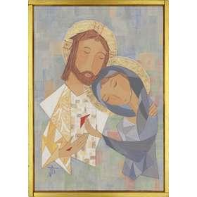 Icône Marie et Jésus ressuscité