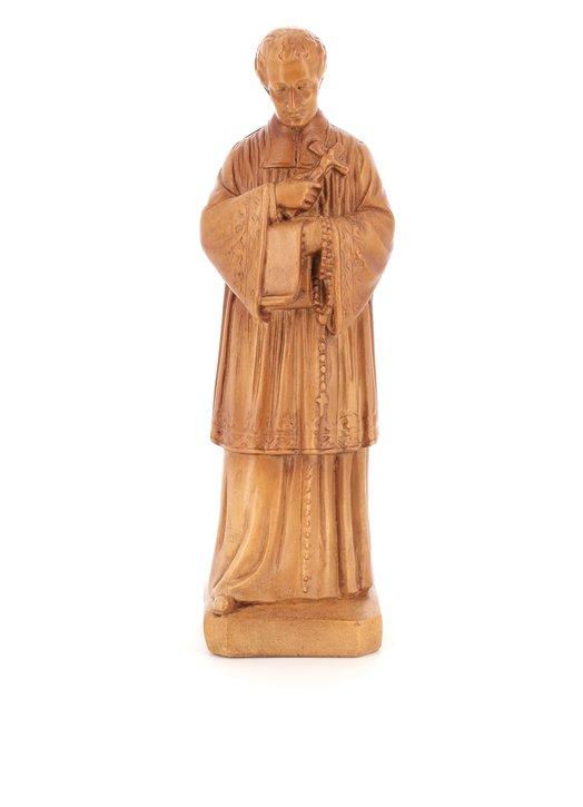 Statue de St Louis-Marie Grignon de Montfort (Vue de face)