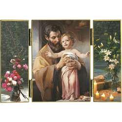 Saint Joseph et l'Enfant-Jésus