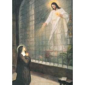 Ste Marguerite Marie et le Sacré Coeur