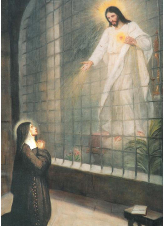 Saint Margaret Mary and the Sacred Heart