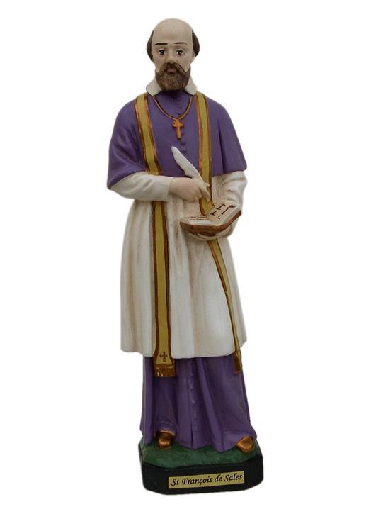 statue of Saint Francis de Sales (Vue de face)
