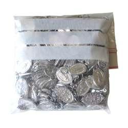 Médailles miraculeuses aluminium - 18 mm - lot de 200 (Paquet de 200 médailles miraculeuses)