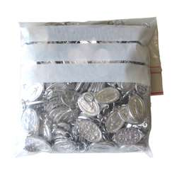 Medalla Milagrosa - aluminio - 18 mm - conjunto de 200 (Paquet de 200 médailles miraculeuses)