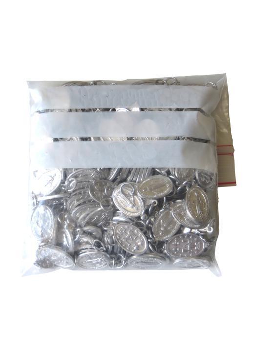Miraculous medal - aluminium - 18 mm - package of 200 (Paquet de 200 médailles miraculeuses)
