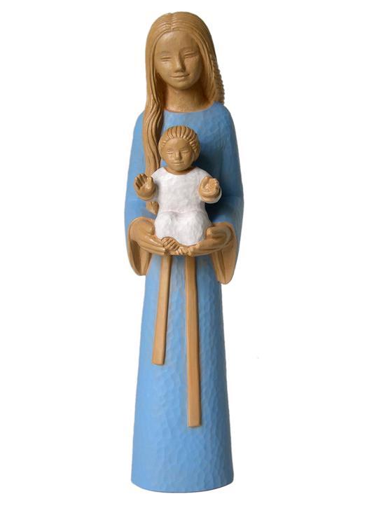 Statue de Marie Mère des familles, 38 cm (Vue de face)