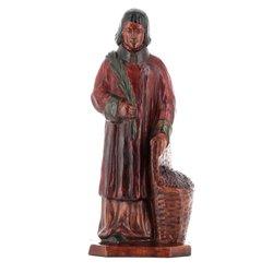 Statue of saint Vincent deacon and martyr (Vue de face)