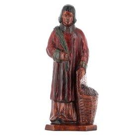Statue de saint Vincent diacre et martyr (Vue de face)