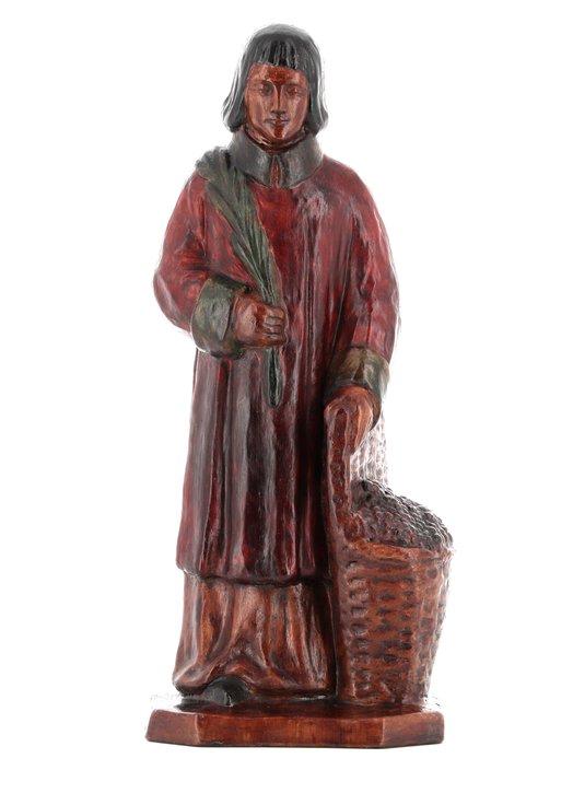 Estatua de San Vincent diácono y mártir (Vue de face)