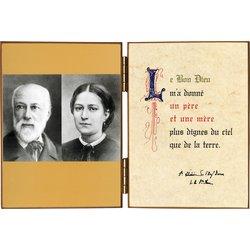 Mr et Mme Martin (1823-1894) Parents de Ste Thérèse de Lisieux