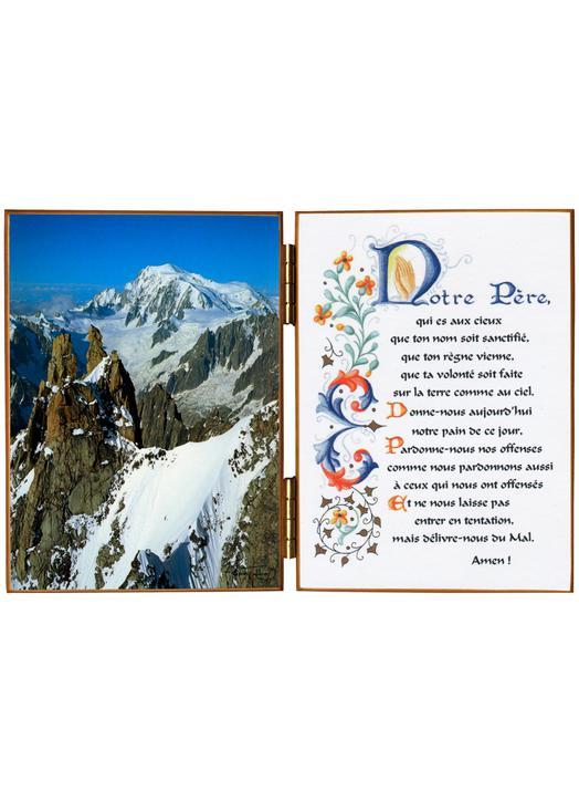 Mont Blanc vu du col de l'Aiguille Verte