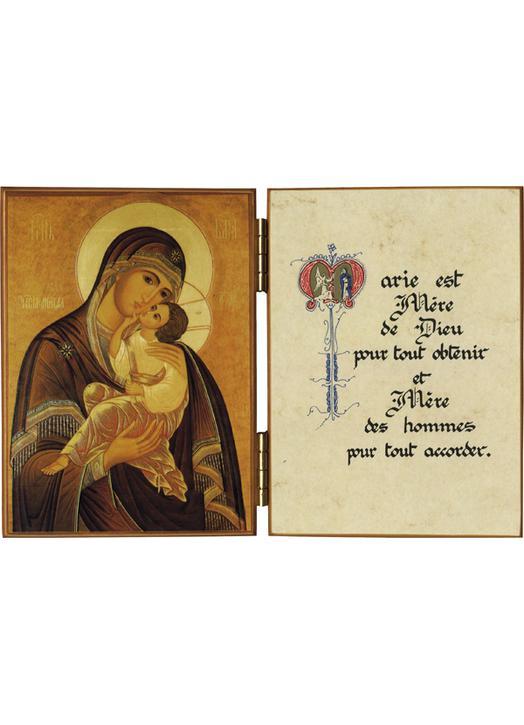 Vierge qui aime les hommes