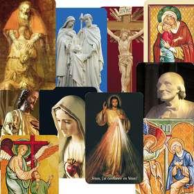 Mixed  of 10 models of card-prayers