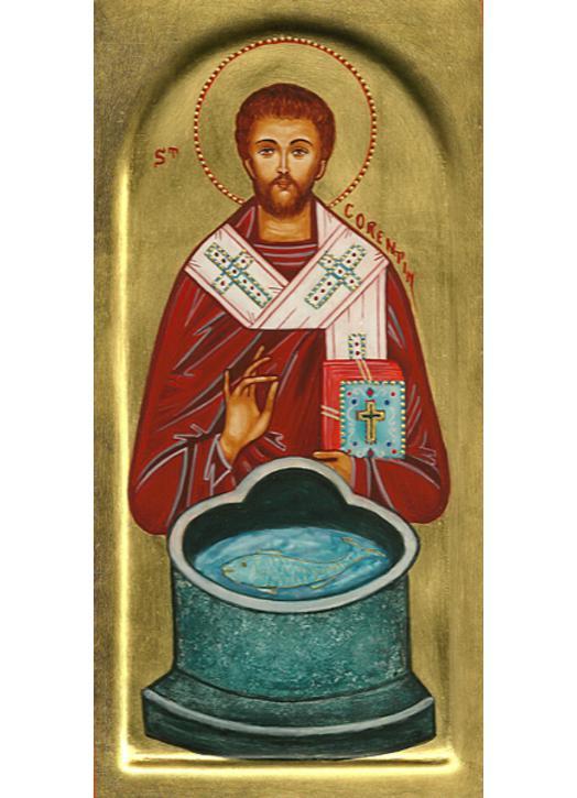 Icon of saint Corentin