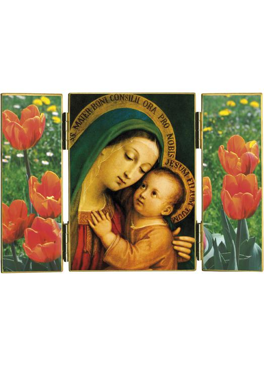 Miracolous image of the Mother of good Counsel