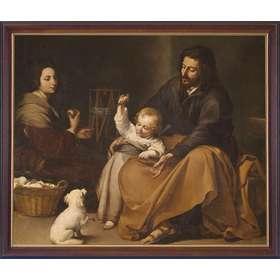 La santa familia con el pajarillo