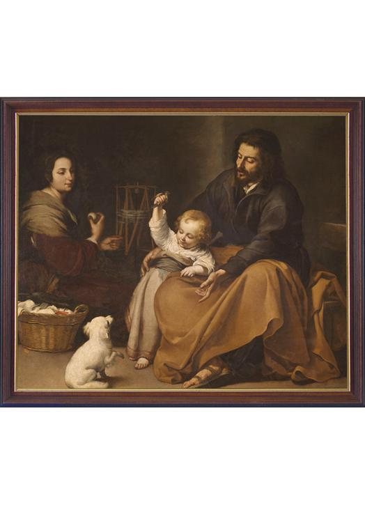The Holy Family with the fledgling