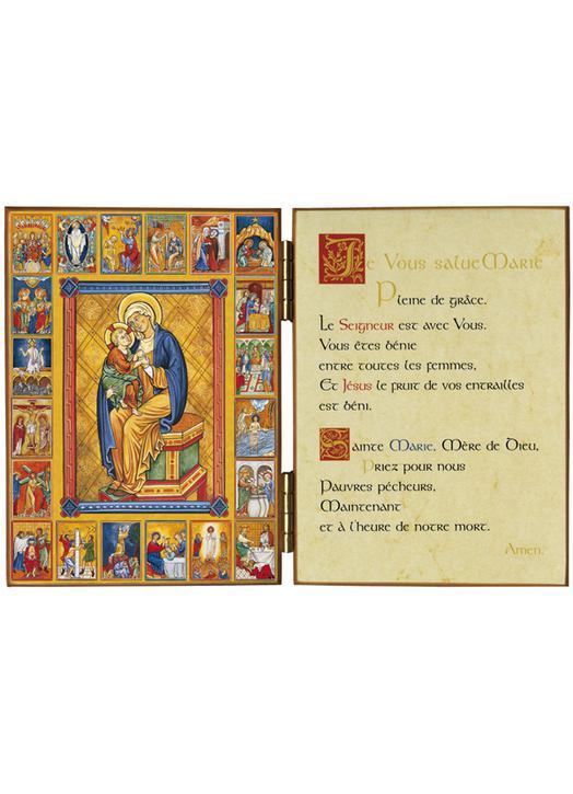 Les vingt mystères du Rosaire