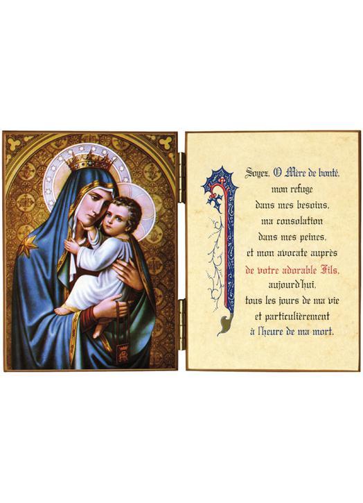 Notre Dame du Mont-Carmel et une invocation à Marie