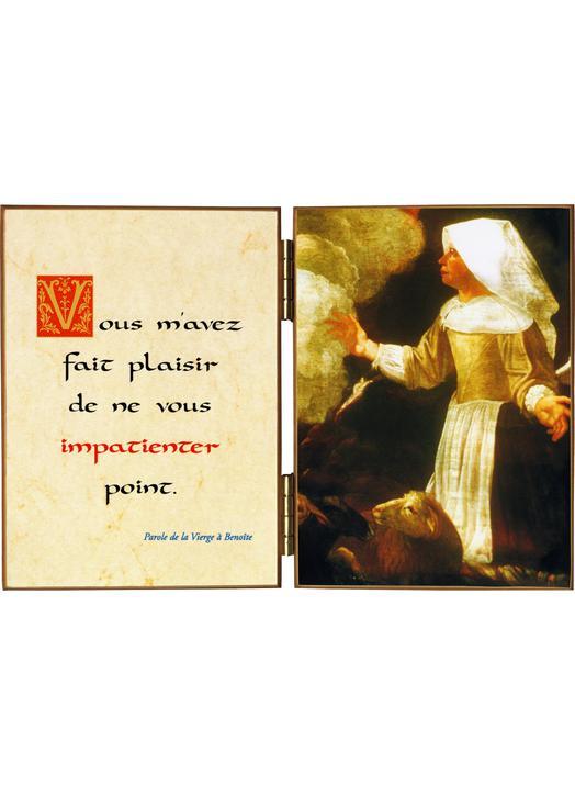Apparition de la Vierge à Benoîte Rencurel
